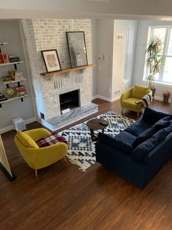 Exposed Brick DC | Five Stylish Craigslist Apartments in DC